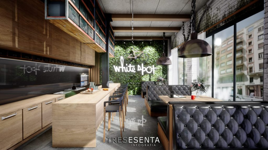 Diseño cafetería Madrid