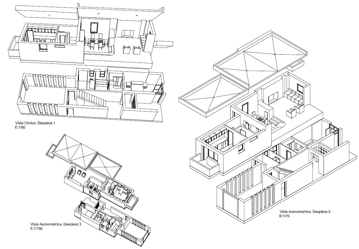 ejemplo de modelado 3d. Proyecto de 360 Infografia.