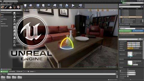 unreal engine 4 para arquitectura