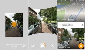 Aplicaciones para realizar fotografias 360 grados Google Street