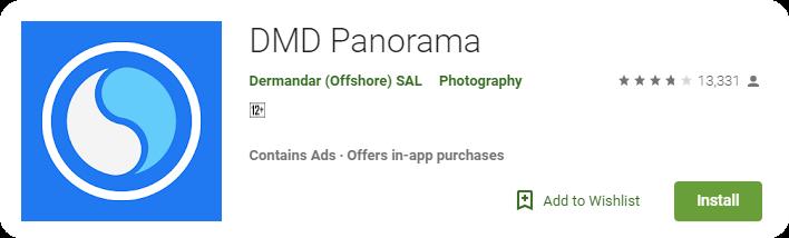 DMD-Panorama- Apps para sacar imagenes 360