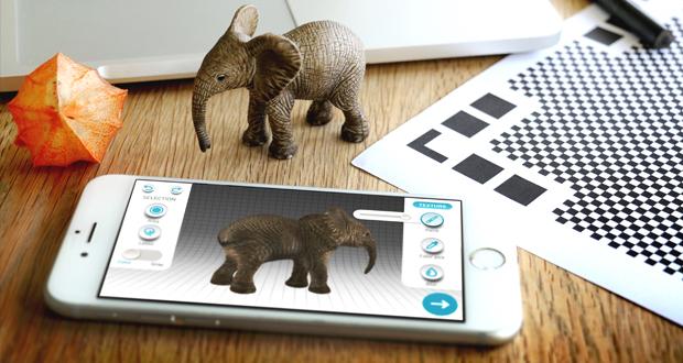 aplicación Qlone gratuita para escaneo 3d