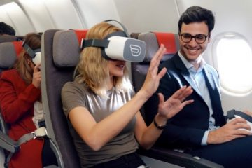 Gafas de realidad virtual para vuelos de Iberia