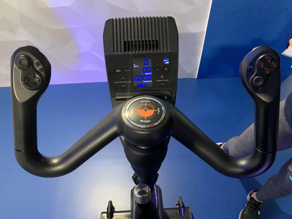 manillar nordictrack bicicleta estatica con realidad virtual