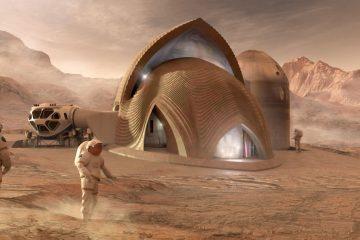 primeras casas impresas en 3d de Marte